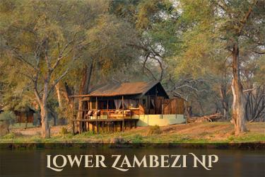 accommodatie Lower Zambezi